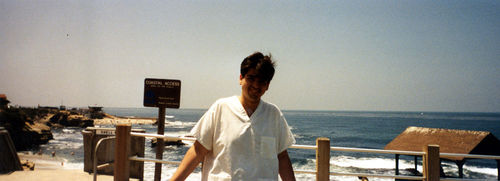 Joe in La Jolla, 1991