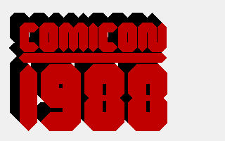 Amiga COMICON1