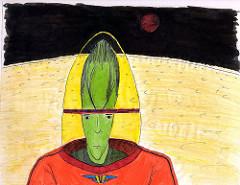 Alien Astronaut, 1988