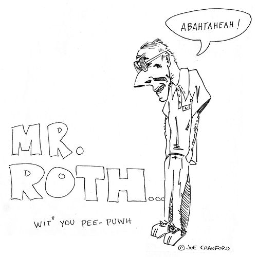 Mr. Roth Caricature, 1987