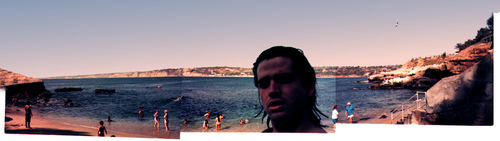 Joe at La Jolla Cove 1995