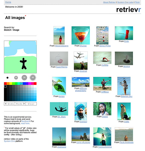 Retrievr Search