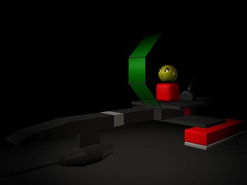 Model for 3D in progress
