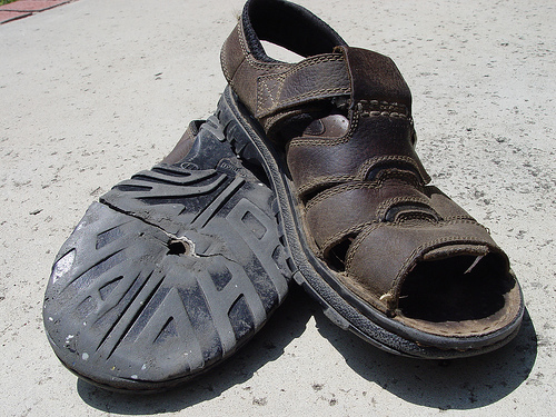 The dead sandals #1