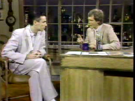 David Byrne and David Letterman