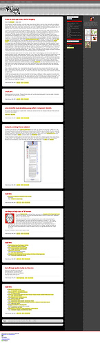 screenshot artlung.com/blog/ latest version.