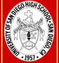 University of San Diego High School Crest