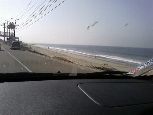 PCH Commute. Slow enough to take this.
