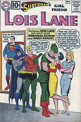 Lois Lane Kisses