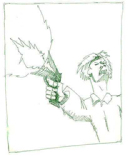 Man With A Gun, 1988