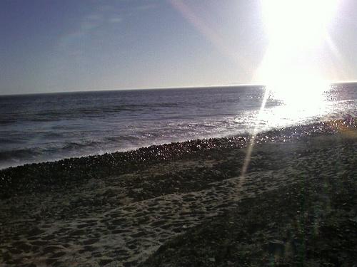 They put stones on my beach!