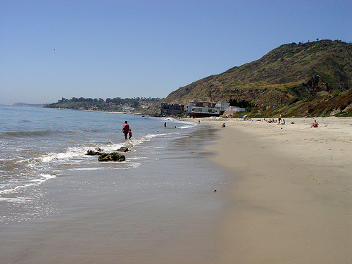Malibu 17 May 2008 / Looking west.