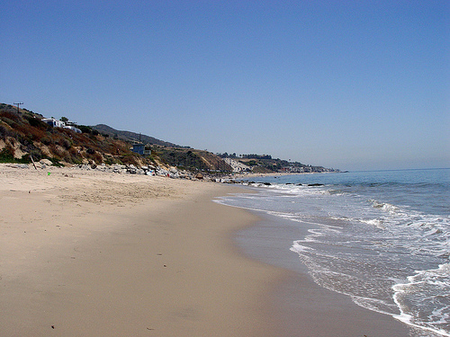 Malibu 17 May 2008 / Looking east.