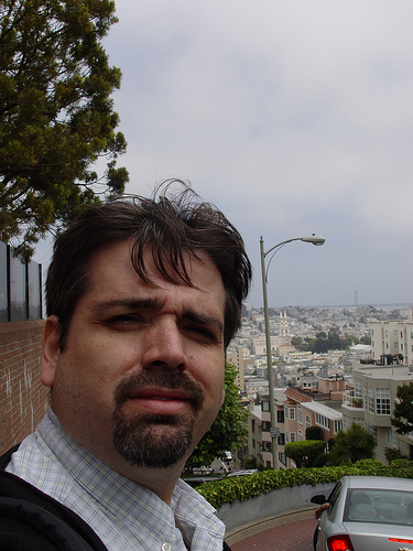 Joe, Nerdy, Top of Lombard Street