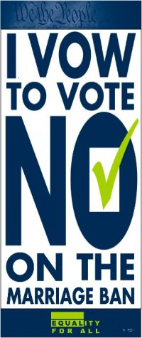 Vow to Vote No on 8