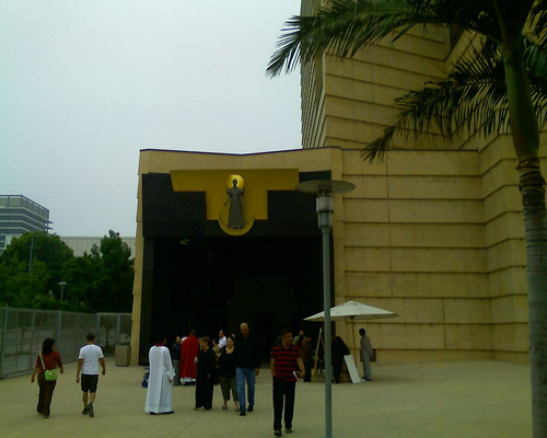 Our Lady of the Angels; Entrance; After Mass