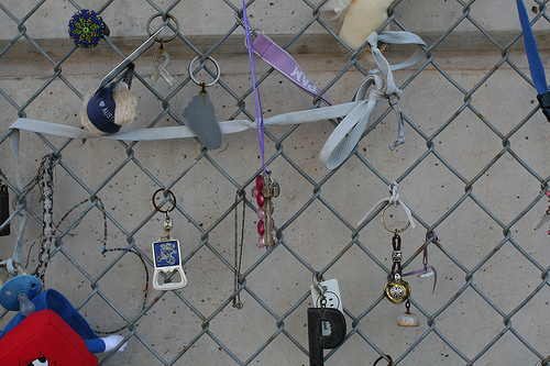 Artifacts from the Fence / Oklahoma City Memorial