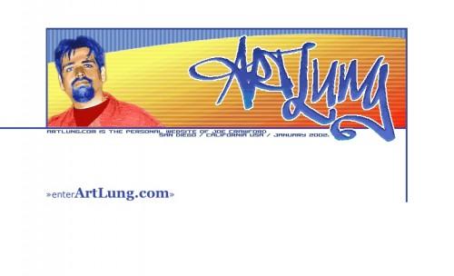 ArtLung.com / Splash / January 23, 2002