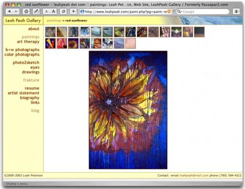 leahpeah.com, 2002