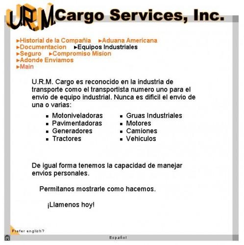 URM Cargo Services, 2000