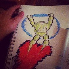 Oh look another robot drawing!