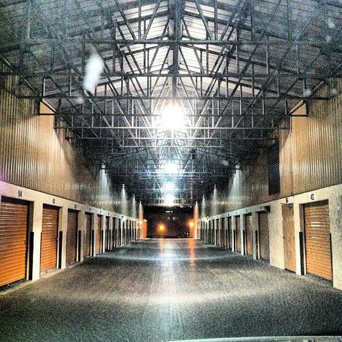 Storage hallway.