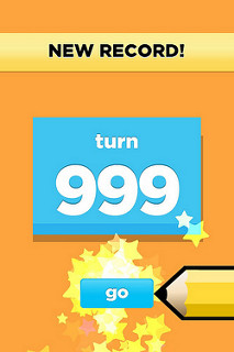 Leah and I maxed out @DrawSomething__ -- it won't go past 999. It won't stop us.
