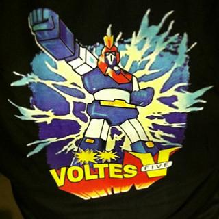 Magandang umaga, Voltes V t-shirt! Let's Volt In!