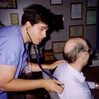 Joe & stethoscope 1991-2