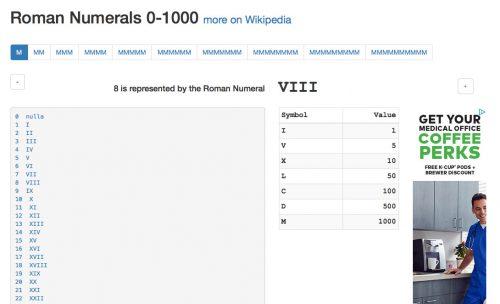 roman-numeral-8