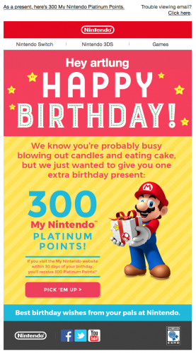 From Nintendo