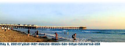 May 6, 2001:Crystal-Pier::Pacific-Beach::San-Diego::California::USA