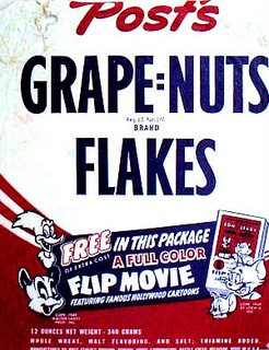 Vintage Grape Nuts Flakes