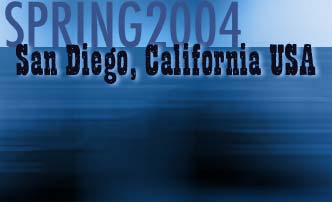 Spring 2004 San Diego California USA